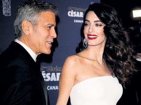 Джордж Клуни - прирождённый папаша