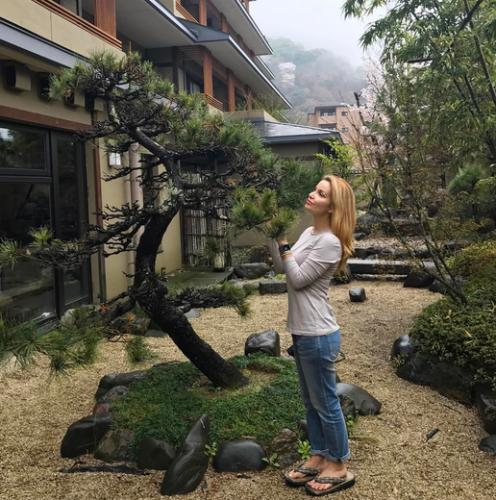 Ольга Орлова улетела отдыхать от «Дома-2» в Японию
