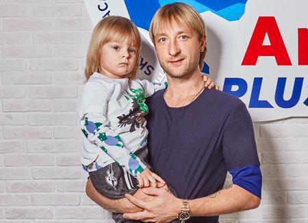 Сын Евгения Плющенко и Яны Рудковской Александр:
