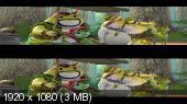 Принцесса-лягушка 3D / Frog Kingdom 3D  Вертикальная анаморфная стереопара