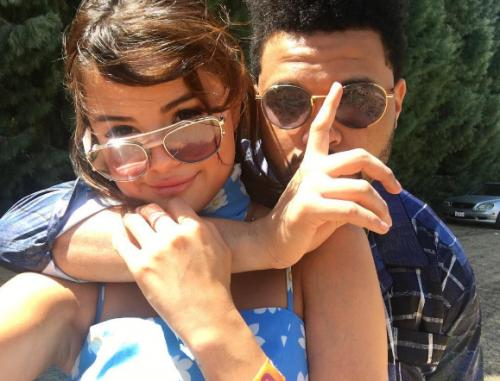 Селена Гомес подтвердила слухи о романе с The Weekend