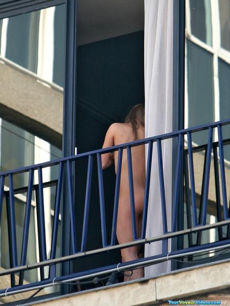 Балкона подсмотренное с