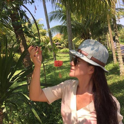 Анастасия Заворотнюк устроила роскошный отдых
