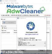 AdwCleaner 6.046 - удаление нежелательных панелей инструментов из веб-браузеров