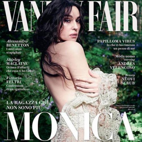 Обнаженная 52-летняя Моника Беллуччи поучаствовала в фотосессии для Vanity Fair