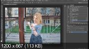 Ретушь фотографии в холодных тонах (2017) HDRip