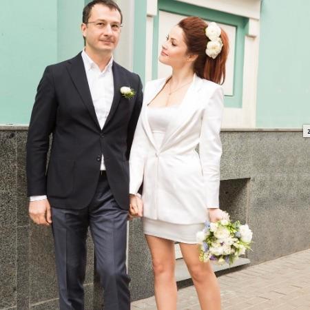 Екатерина Вуличенко с женихом