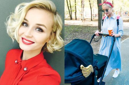 Полина Гагарина вышла на прогулку с новорожденной дочерью и рассказала о ней в соцсети