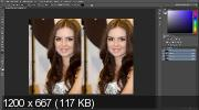 Как сделать кожу лица идеальной в Photoshop (2017) HDRip