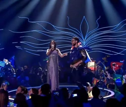 Голый скандал на «Евровидении-2017» объяснили «следом России»