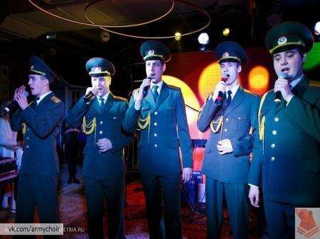 «Хор русской армии» сделал кавер на блатной хит Басты «Девочка»