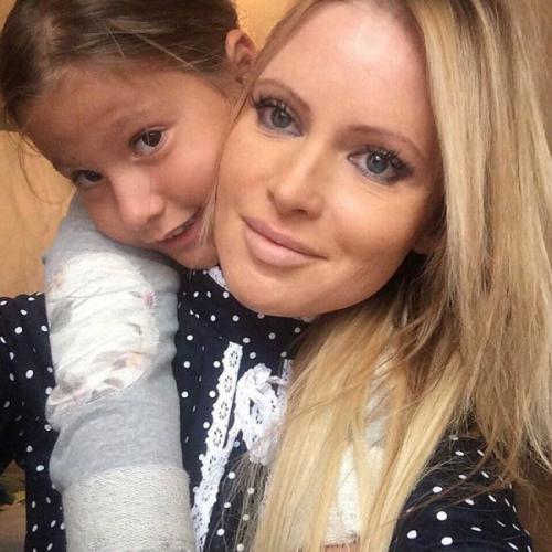 Экс-супруг отбирает дочь у Даны Борисовой