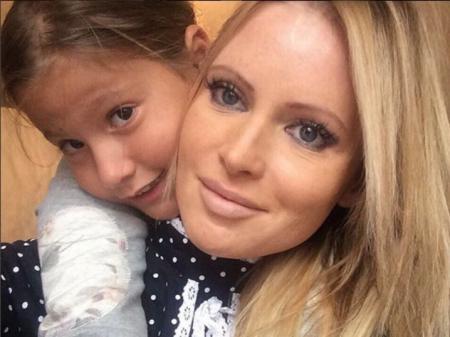 Бывший муж подал в суд на Борисову из-за их дочери