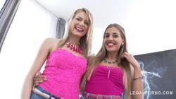 Claudia Mac, Silvia Dellai amazing combo - blondies, gapes with ass rimming, DAP S001 / 11.08.2017 [1080p]