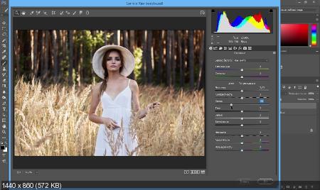 Магия цвета в фотошоп. Курс по цветокоррекции (2017) HDRip