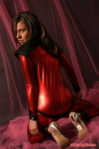 Angels In Shiny - Fetish Clothes - Set 374