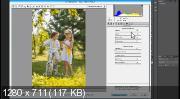 Цветокоррекция летнего детского снимка (2017) HDRip