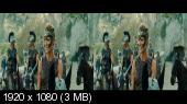 Чудо-женщина 3D / Wonder Woman 3D (Лицензия) Горизонтальная анаморфная стереопара