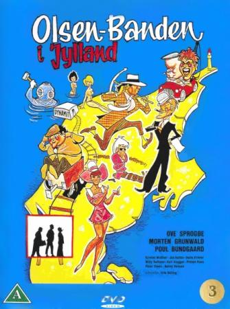 Банда Ольсена в Ютландии / Olsen-banden i Jylland / The Olsen Gang in Jutland (1971) HDRip