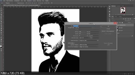 Как сделать стильную профессиональную аватарку (2017) HDRip
