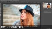 Создание рисунка. Effect sketch photoshop (2017) HDRip