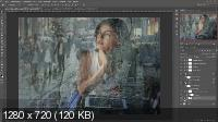 Эффект мокрого стекла в Photoshop (2017)
