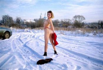 Naked outdoors russian girls nude