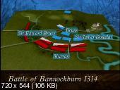 Битва при Баннокберне 1314. Разъяренные львы / Bannockburn 1314. The Lions Rampant (1993) TVRip
