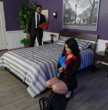 Katrina Jade (Cumming Up With The Evidence / 05.10.2017) HD 720p