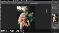 Ретушь женского портрета в Photoshop (2017) HDRip