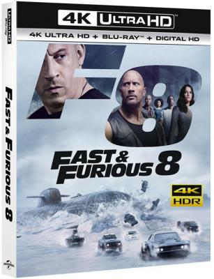 Форсаж 8 / The Fate of the Furious (2017) UHD BDRemux 2160p | 4K | HDR