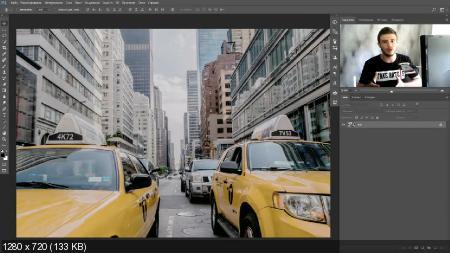 Добавление киноэффекта на фото (2017) HDRip