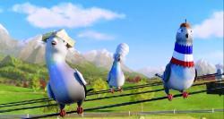 Трио в перьях / A Stork's Journey (2017) HDRip