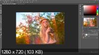 Ретушь и тонирование весенней фотографии (2017) HDRip