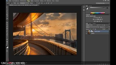 Объединение Raw файлов в Photoshop с разными параметрами (2017)