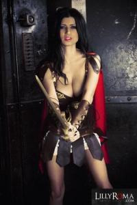 Lilly Roma Photoset - Warrior Princess