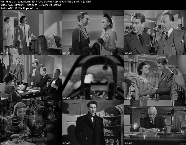 Mine Own Executioner 1947 720p BluRay H264 AAC-RARBG