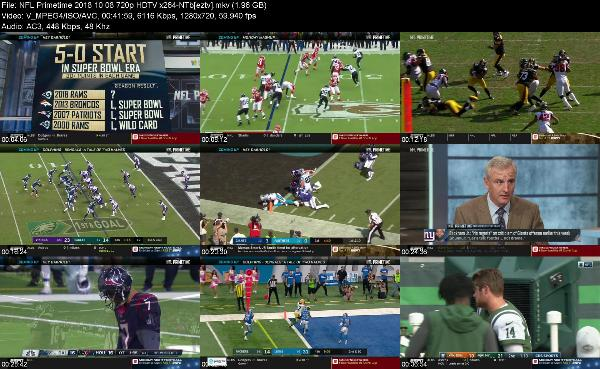 NFL Primetime 2018 10 08 720p HDTV x264-NTb