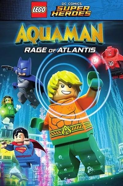 Lego Dc Comics Super Heroes Aquaman Rage Of Atlantis 2018 Bdrip X264-infidel