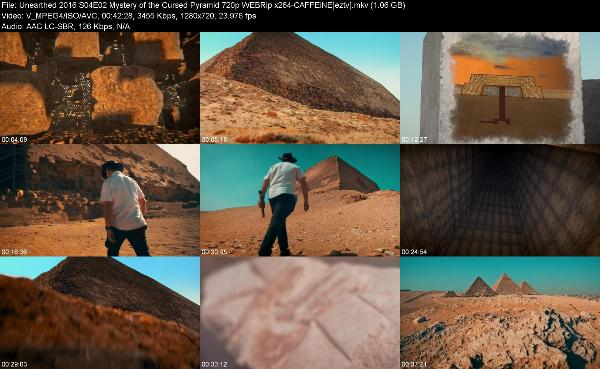 Unearthed 2016 S04E02 Mystery of the Cursed Pyramid 720p WEBRip x264-CAFFEiNE