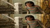 Без черных полос (на весь экран) Алита: Боевой ангел 3D / Alita: Battle Angel 3D ( by Amstaff) Вертикальная анаморфная стереопара