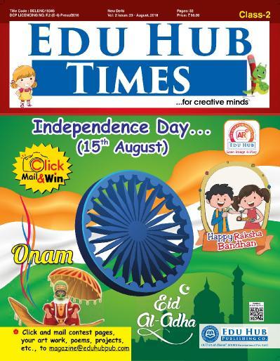 Edu Hub Times Class 2   August (2018)