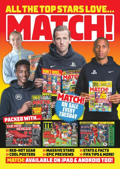 Match !   July 16 (2019)