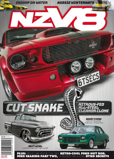 NZV8  Issue 147  August (2017)