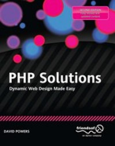 PHP Solutions Dynamic Web Design Made Easy