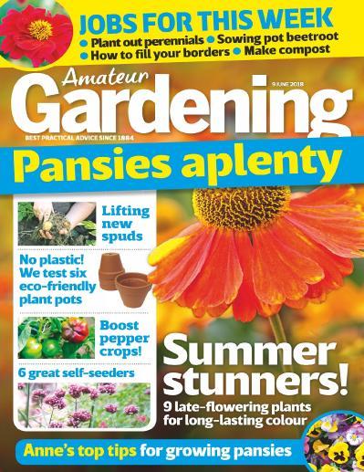 Amateur Gardening   09 June (2018)
