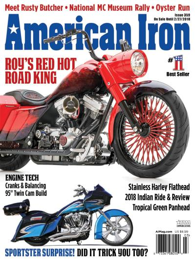 American Iron Magazine  January (2018)