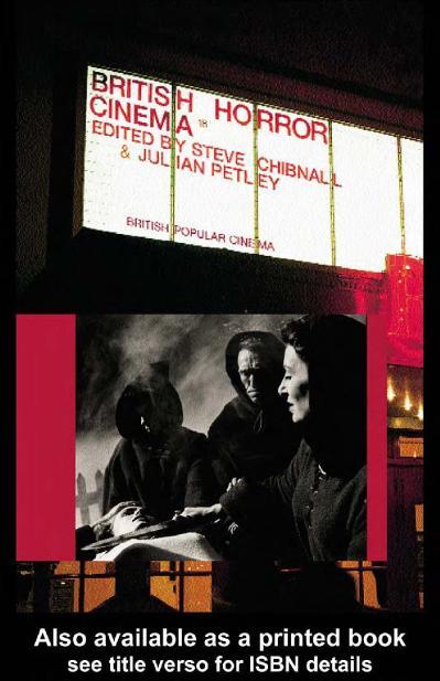 British Horror Cinema Steve Chibnall
