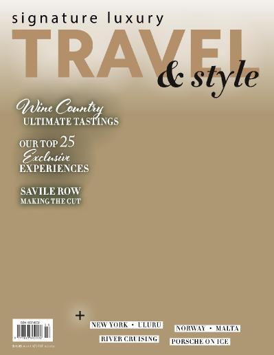 Signature Luxury Travel & & Lifestyle  April (2018)