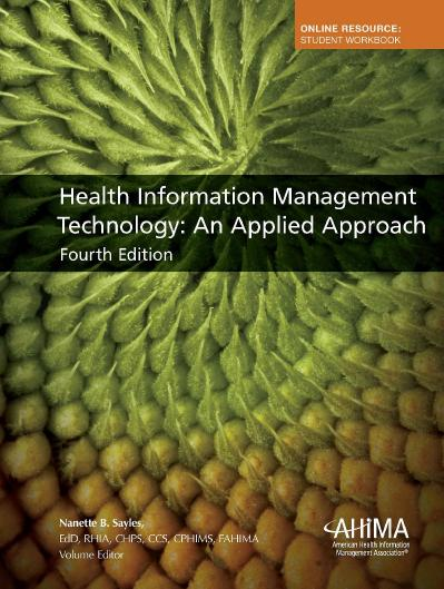 Health Information Management Technology  An Ap